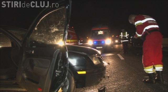 Un accident ușor în Florești a PARALIZAT traficul până în Cluj-Napoca