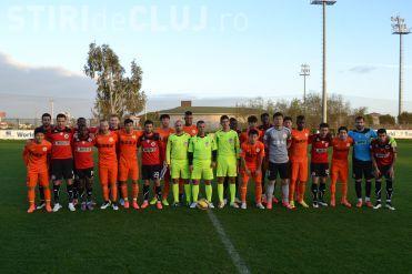 """U"" Cluj a învins deținătoarea Supercupei Chinei cu 1-0"
