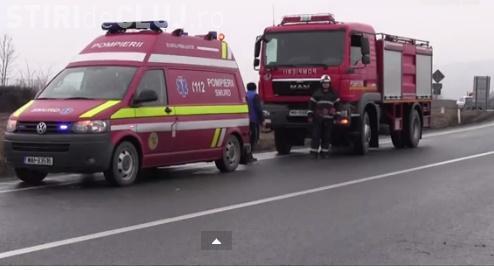 """Drum """"blestemat"""" în Cluj. S-au petrecut două accidente în două minute"""