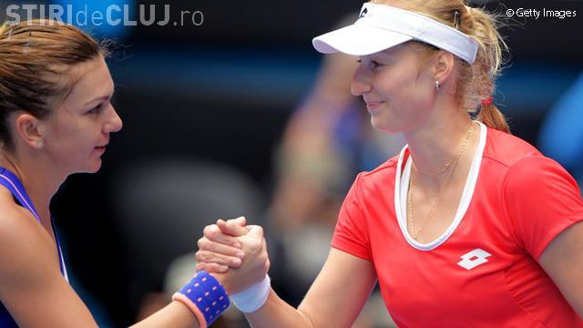 """Simona Halep, """"demolată"""" în sferturile Australian Open. A pierdut în două seturi"""