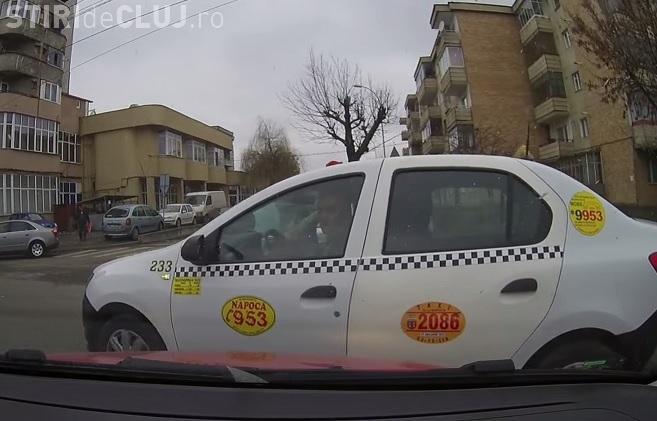 Taximetrist din Cluj, de la Napoca, în contre DURE cu un șofer! Cine e de VINĂ? - VIDEO