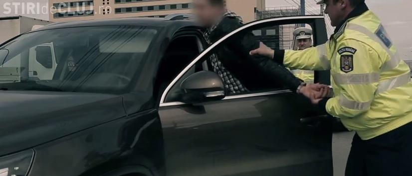 Urmăriți național prinși de polițiști la Cluj