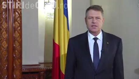 Mesajul lui Klaus Iohannis de Ziua Unirii Principatelor Române: Să fim o naţiune a unirii şi un popor al unităţii