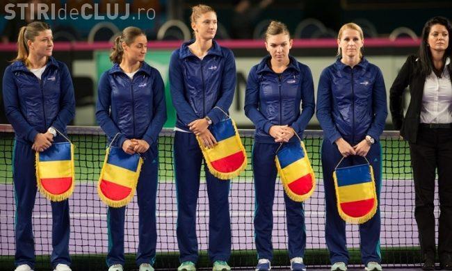 România va înfrunta Canada în următoarea etapă a Fed Cup. Cum a reacționat Simona Halep