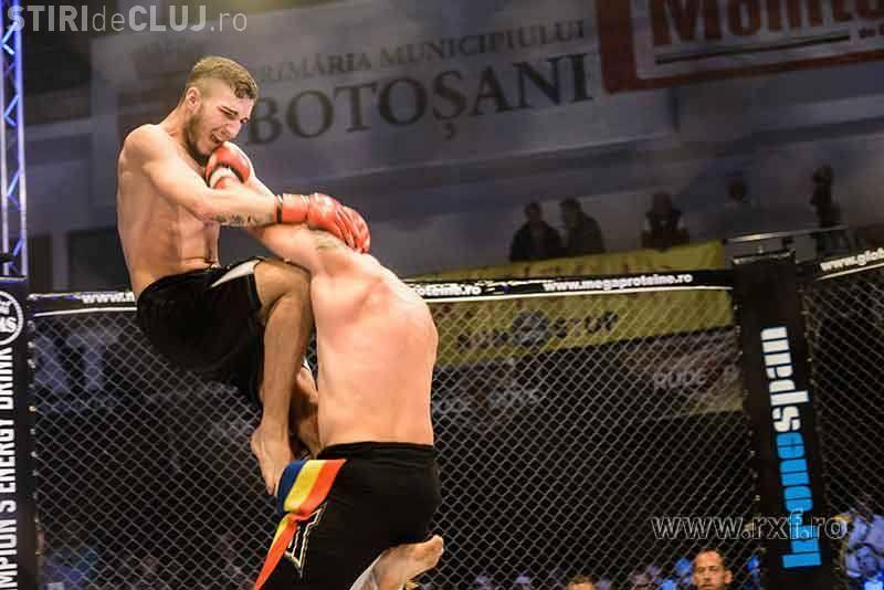 Un sportiv clujean l-a învins pe campionul mondial de kickbox Florin Stan VIDEO