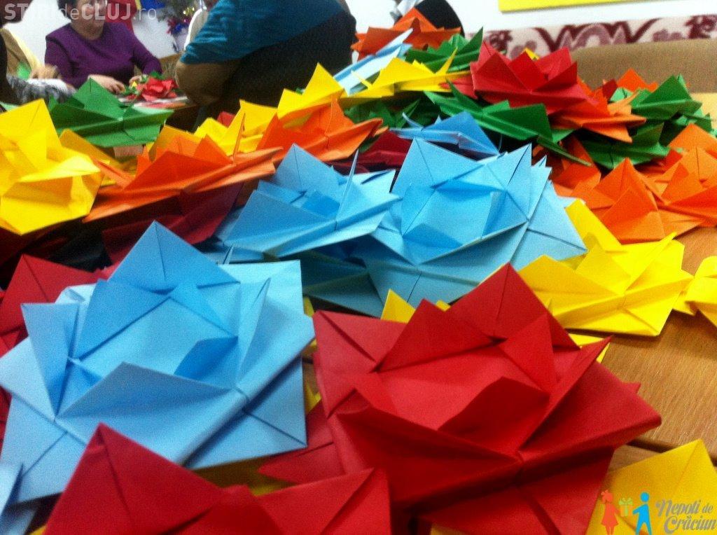 Day 15 - Capitala Europeană a Tineretului: Vor fi expuse mii de origami create de tinerii din Cluj
