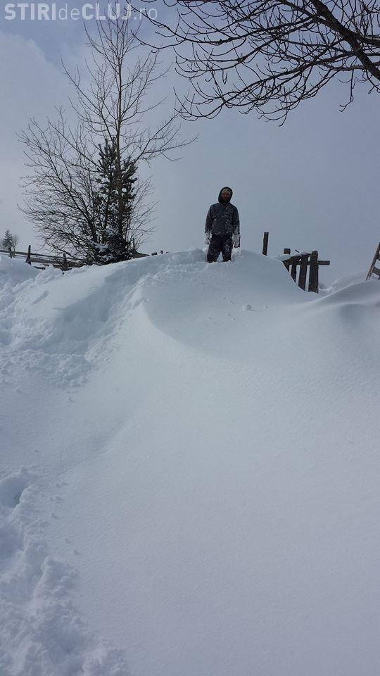 Zăpadă de peste un metru la Cluj: Autoritățile sunt la chef - VIDEO / Primarul Prigoană spune că sunt minciuni