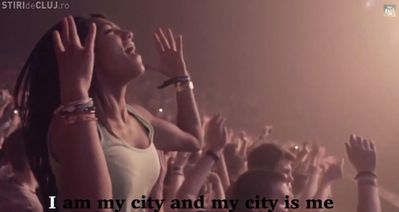 Ascultă IMNUL Cluj-Napoca 2015, Capitală Europeană a Tineretului - VIDEO