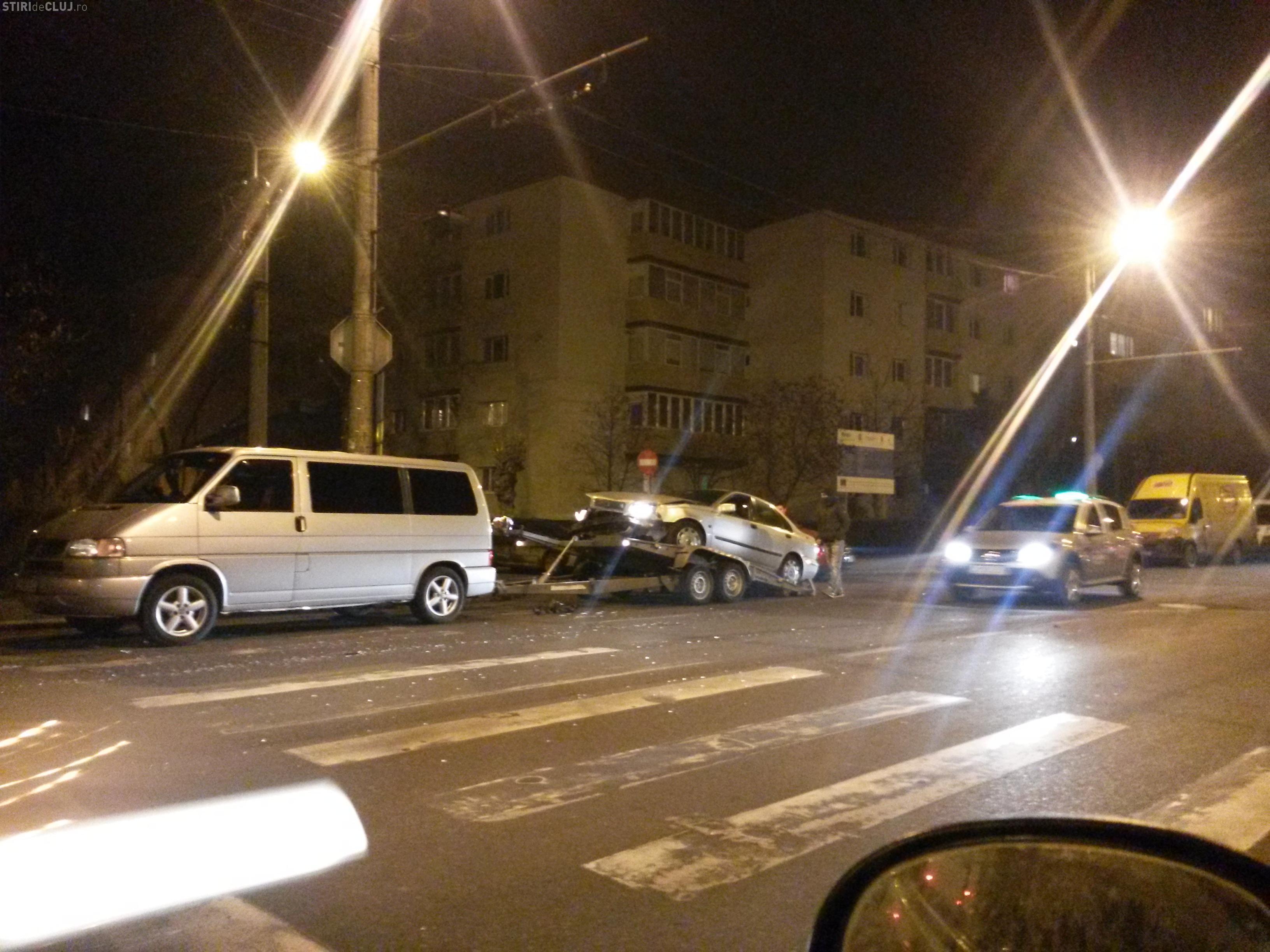 Accident în Gheorgheni pe Bulevardul Nicolae Titulescu - FOTO