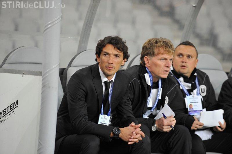 Antrenorul U Cluj se bucură de depunctarea CFR Cluj