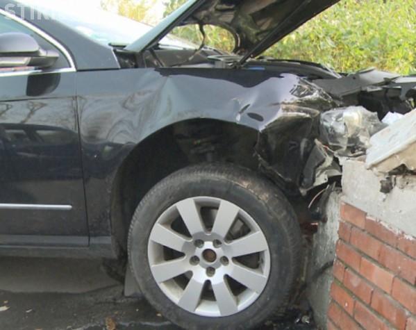 Accident grav în Cluj-Napoca! Un șofer din Turda a produs pagube de 10.000 de lei