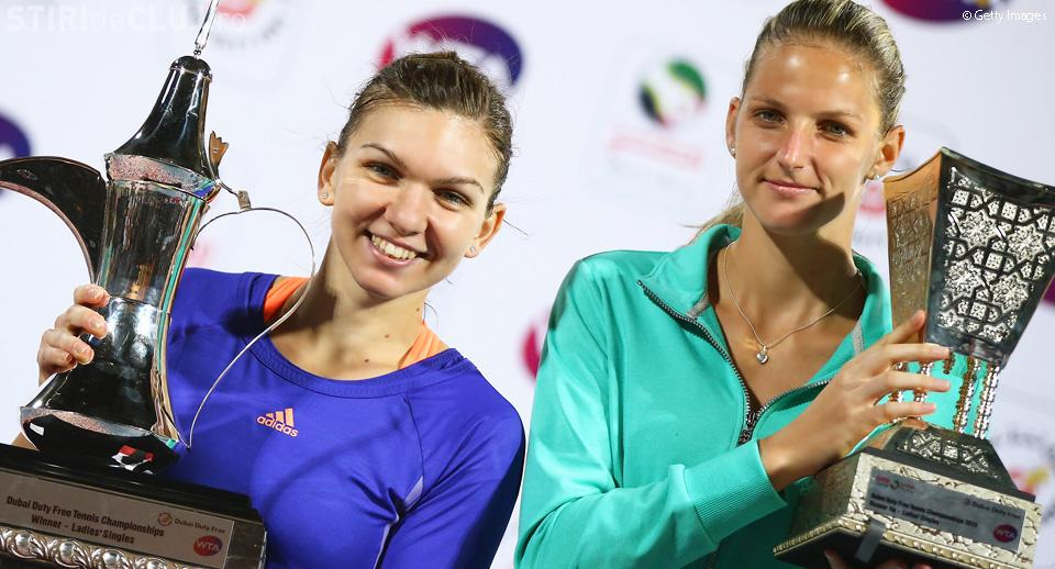 Simona Halep a câștigat turneul din Dubai. Va reveni pe locul 3 mondial