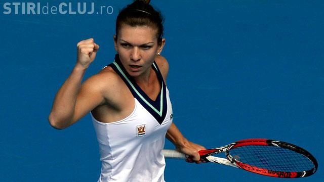 Simona Halep a ajuns în semifinalele turneului de la Dubai. A câștigat meciul cu Makarova