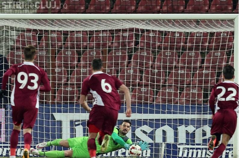 CFR Cluj -  U Cluj 0-0 / Lemnaru a gafat. Ce nu s-a văzut la TV - VIDEO