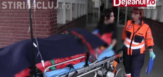 Accident grav de muncă la Dej. Un muncitor a căzut de la peste 10 metri și a intrat în comă VIDEO