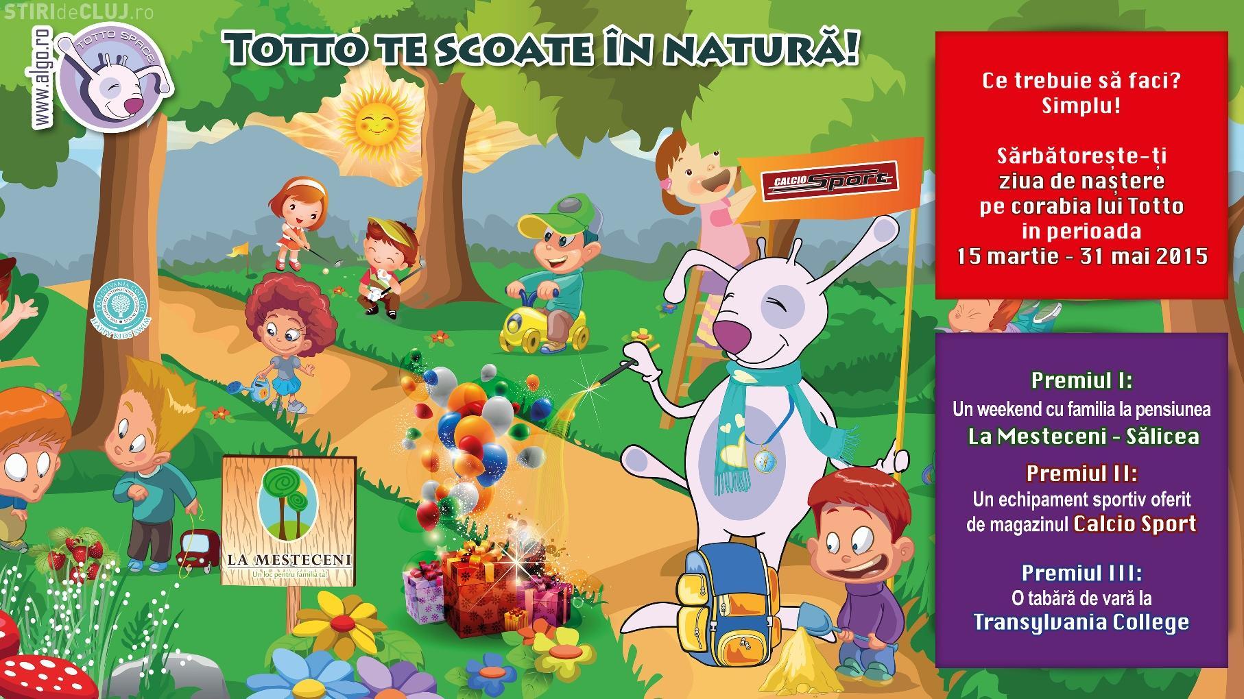 Tombolă cu premii distractive la spațiul de joacă pentru copii, Kidsland Totto Space, din Iulius Mall