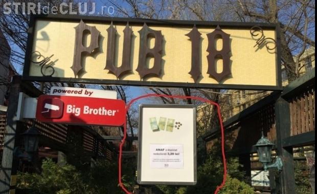 ANAF justifică închiderea unui bar pentru 3,28 lei