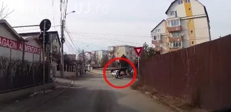 Cum se circulă invers în sensul giratoriu la Cluj VIDEO