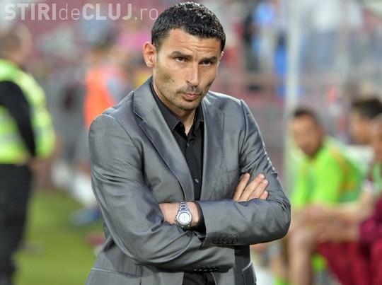 Eugen Trică și-a dat demisia de la CFR Cluj, după ce a pierdut cu U Cluj