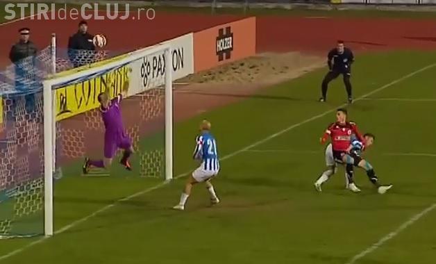 CSMS Iaşi - U Cluj 2-0 - Clujenii cad și mai mult. Falub nu are soluții - REZUMAT VIDEO