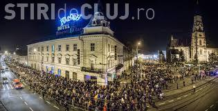 Miting la Cluj-Napoca față de salvarea lui Șova de la închisoare. Circulația rutieră e afectată