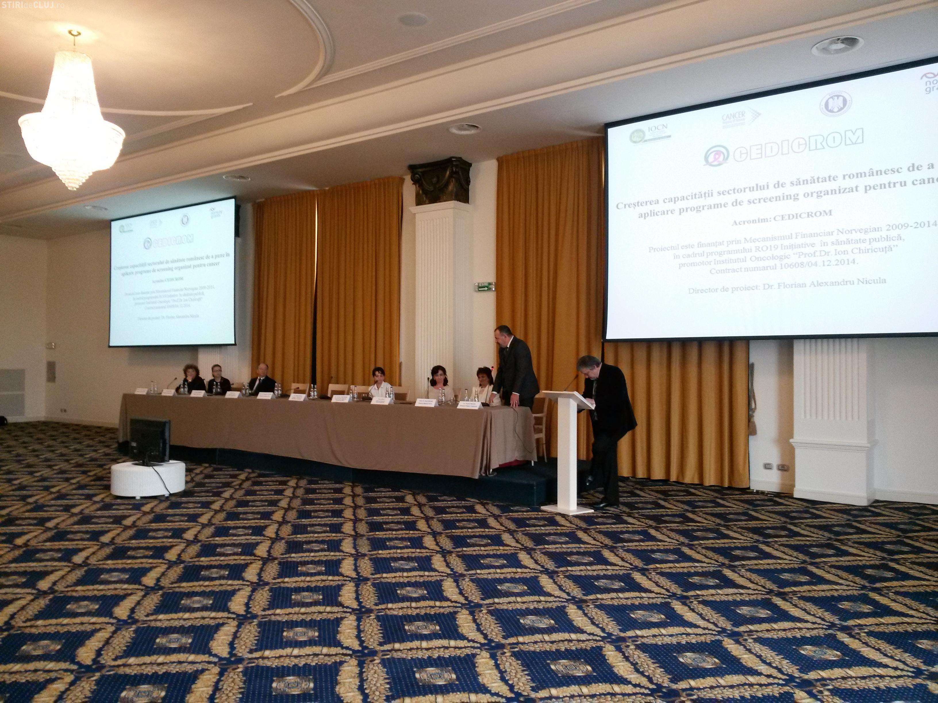 Institutul Oncologic din Cluj derulează un proiect pe fonduri norvegiene de depistare a cancerului de col uterin