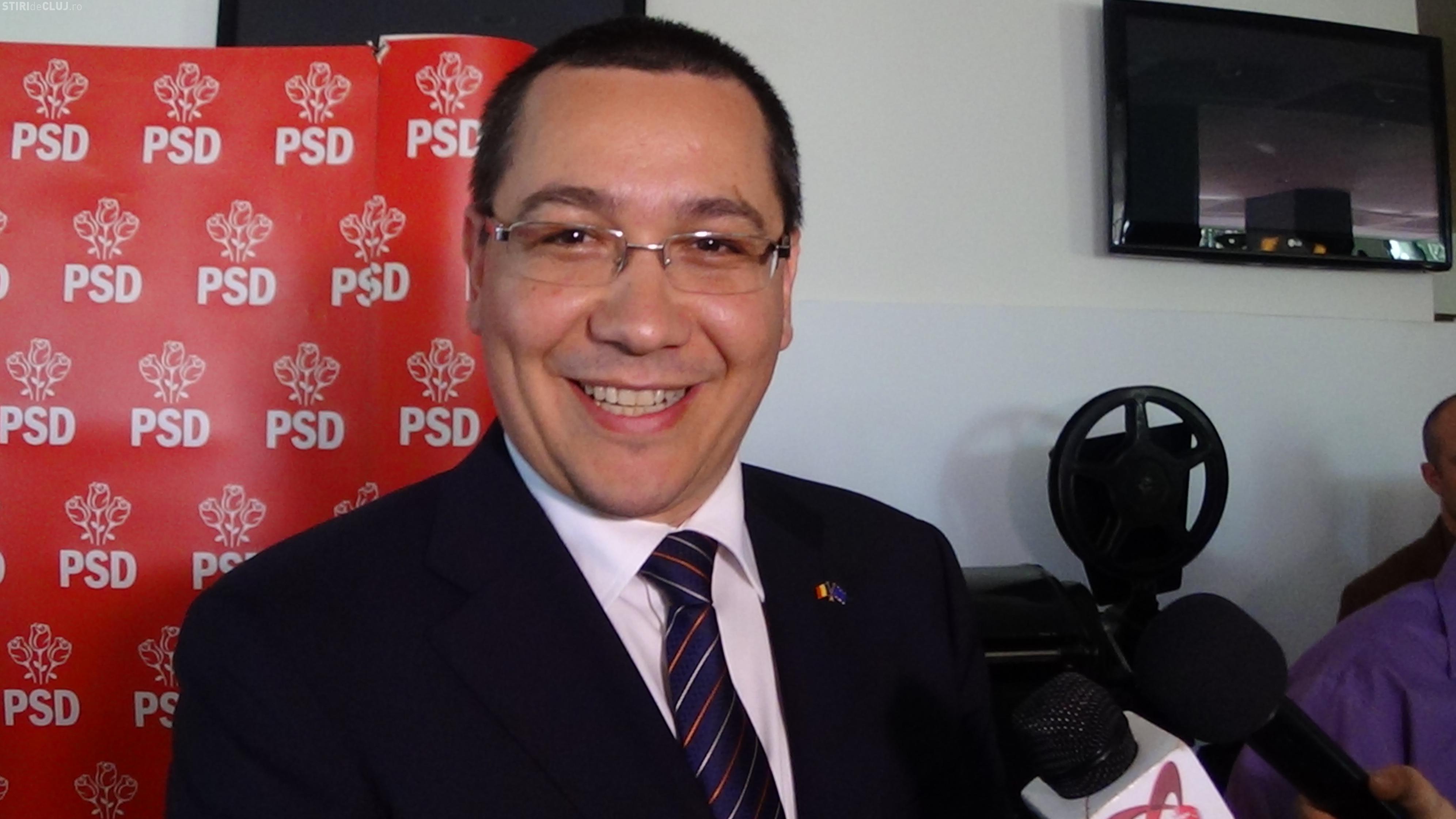 """Victor Ponta: """"Mai stau la guvernare 10-15 ani"""". Premierul vrea o bază de date comună cu amenzile de circulație"""
