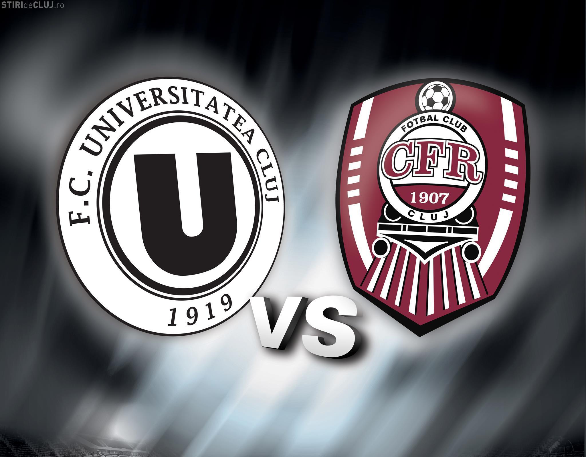 CFR Cluj poate retrograda pe U Cluj, dacă își primește punctele de la TAS