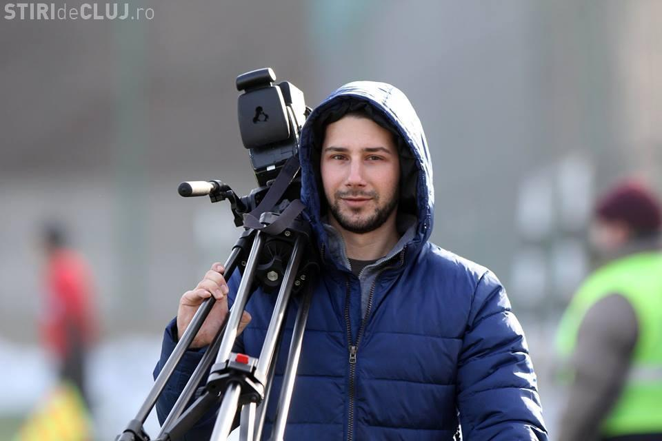 Galeria U Cluj l-a omagiat pe cameramanul Digi Sport, mort de Paște într-un accident auto - VIDEO