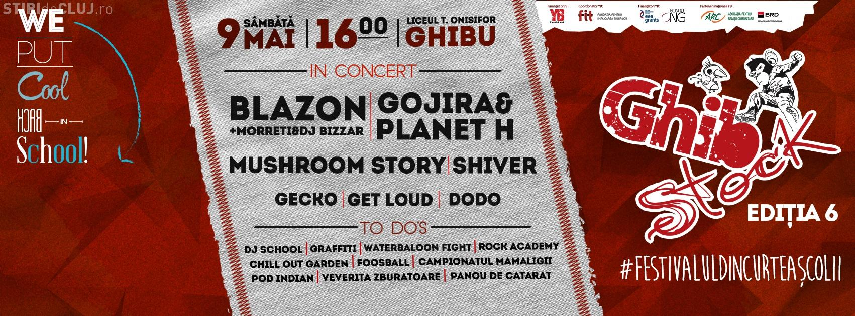 """Ghibstock - Festivalul organizat de elevii de la Liceului Teoretic """"Onisifor Ghibu"""""""