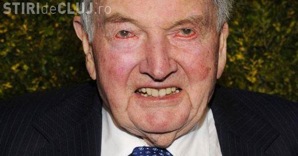 David Rockefeller a suferit al șaselea transplant de inimă la vârsta de 99 de ani