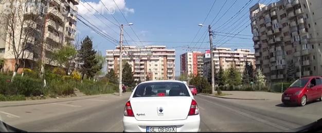 Cum se blochează o intersecție la Cluj VIDEO