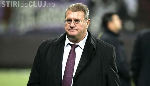 Lui Iuliu Mureşan îi pare rău că U Cluj a retrogradat: Paszkany ar putea reveni la echipă