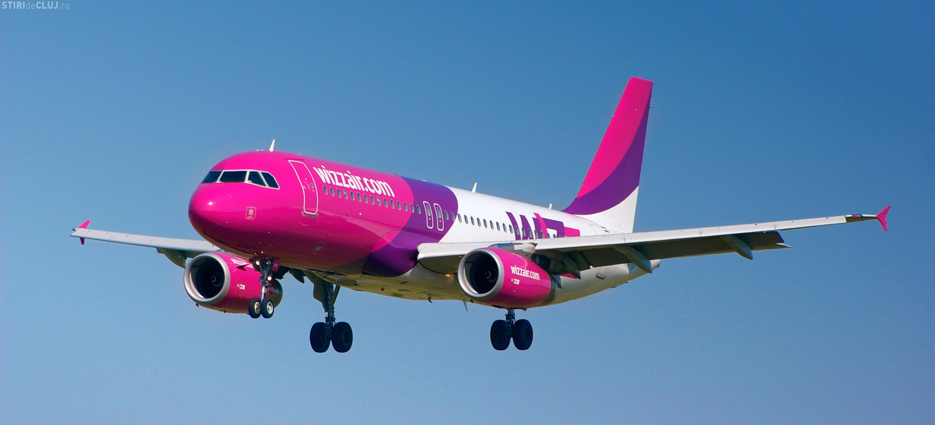 Wizz Air a fost ÎNVINSĂ în instanță la Cluj, pentru un zbor anulat