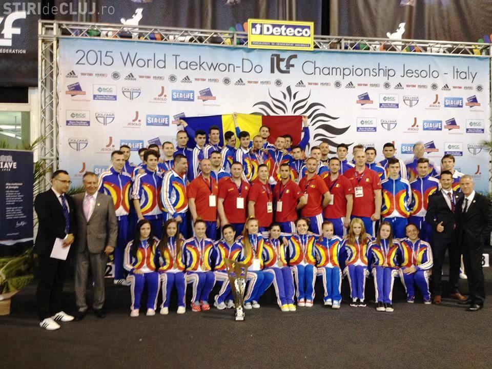 România, vicecampioană mondială la taekwon-do. Un sportiv din Cluj a luat aur