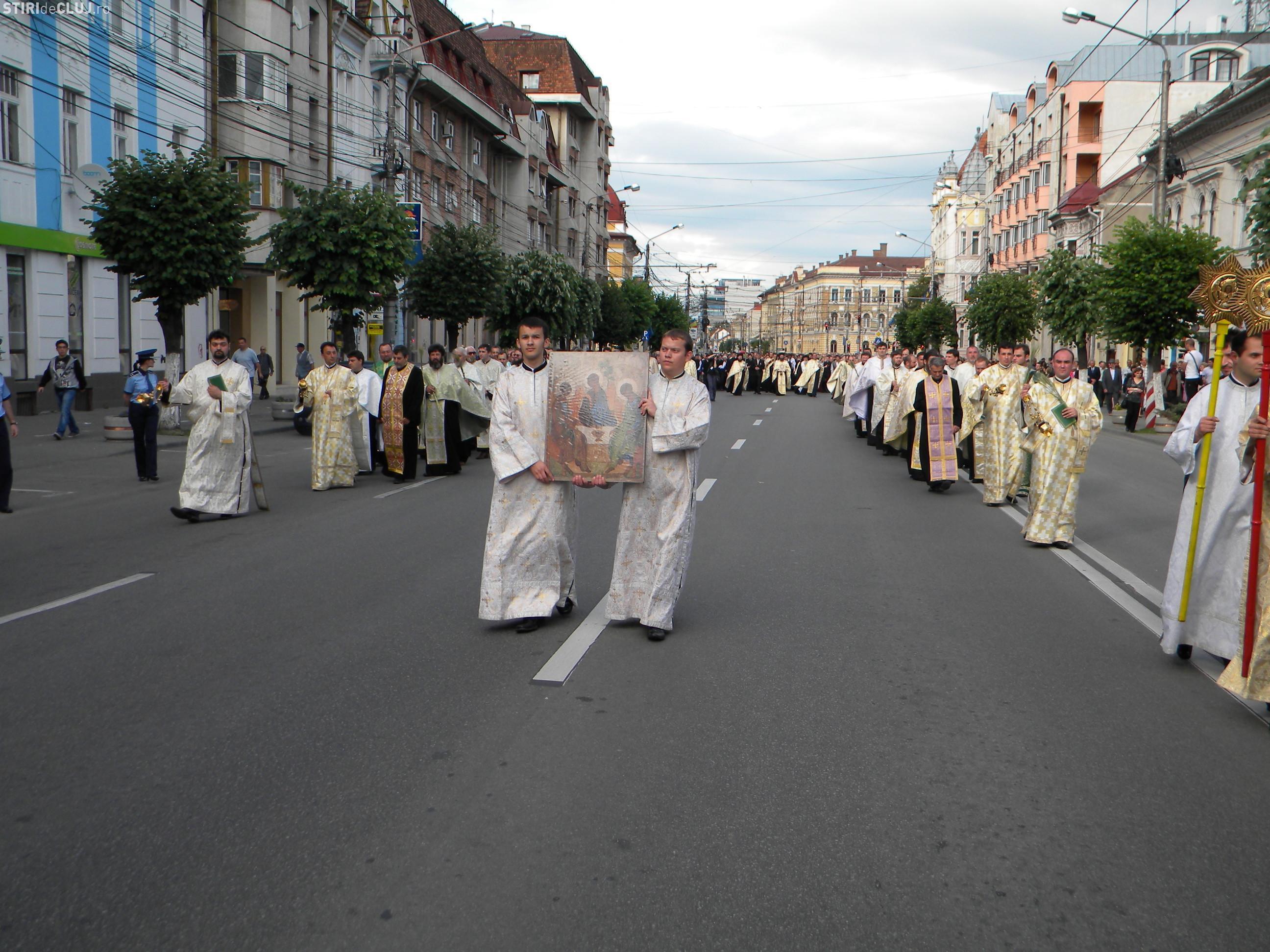 Rusalii la Cluj: Restricţii de circulaţie duminică, 31 mai 2015