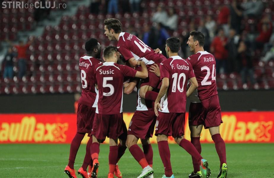 CFR Cluj a schimbat antrenorul