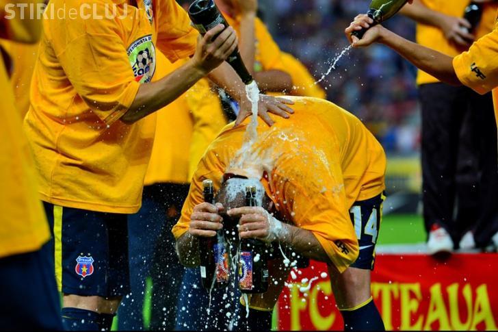 Steaua a câştigat campionatul. ASA Târgu Mureş a pierdut totul în ultimul minut - VIDEO cu bucuria