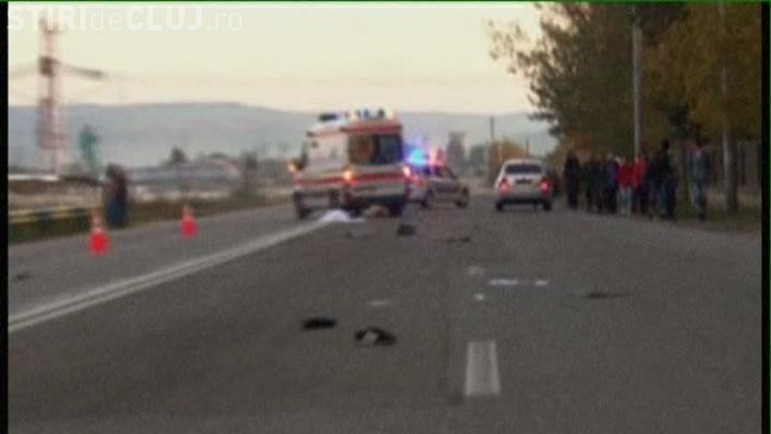 Pieton UCIS chiar pe trecerea de pietoni la Cluj. A fost lovit din plin de un șofer