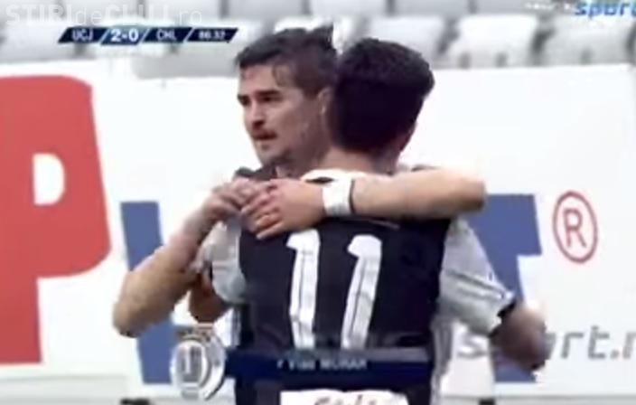 U Cluj - Ceahlăul Piatra Neamţ, scor 2-0, dar DEGEABA - REZUMAT VIDEO
