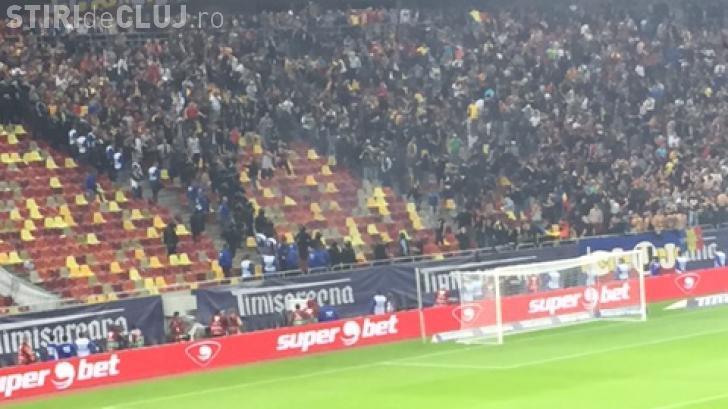 Suporteri cu dosare penale după meciul U Cluj-Steaua