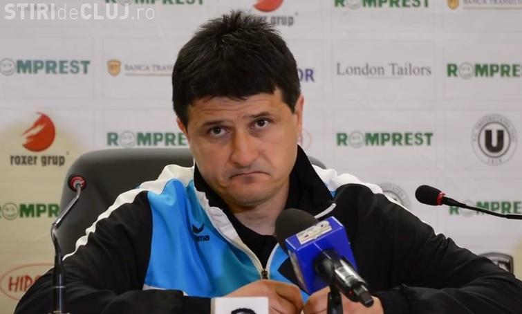 U Cluj ar putea juca cu juniorii finala Cupei cu Steaua. Ce spune Falub