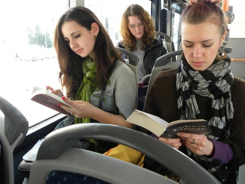 De asta Clujul e SPECIAL! Cei care citesc vor călători gratuit cu autobuzele