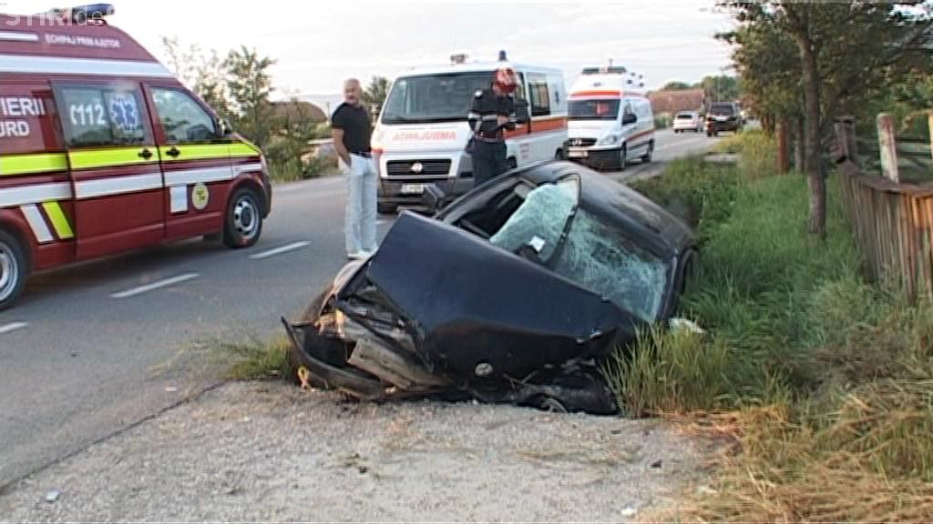 Accident GRAV la Cluj! S-a urcat la volan mort de beat