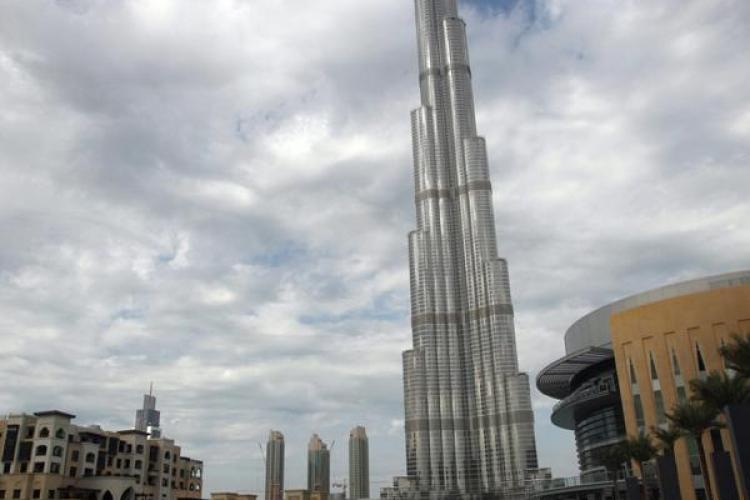 Astazi va fi inaugurata cea mai inalta cladire din lume- Burj Dubai