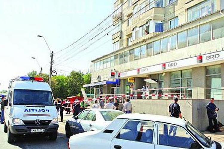 Pistolul era de jucarie, iar camerele de supraveghere de la BRD Timisoara nu au functionat in timpul jafului