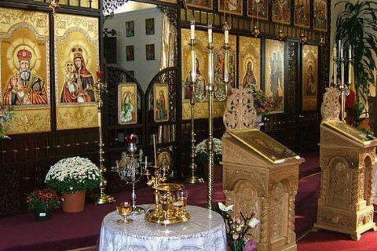 Biserica de pe strada Observatorului, sparta in noaptea de Revelion - EXCLUSIV
