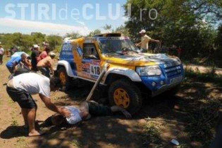 O spectatoare a murit si alte 9 persoane au fost ranite dupa ce au fost lovite de o masina din Raliul Dakar 2010-VIDEO