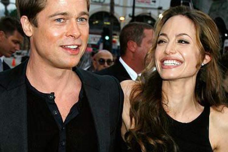 Brad si Angelina divorteaza, relateaza revista britanica Now.