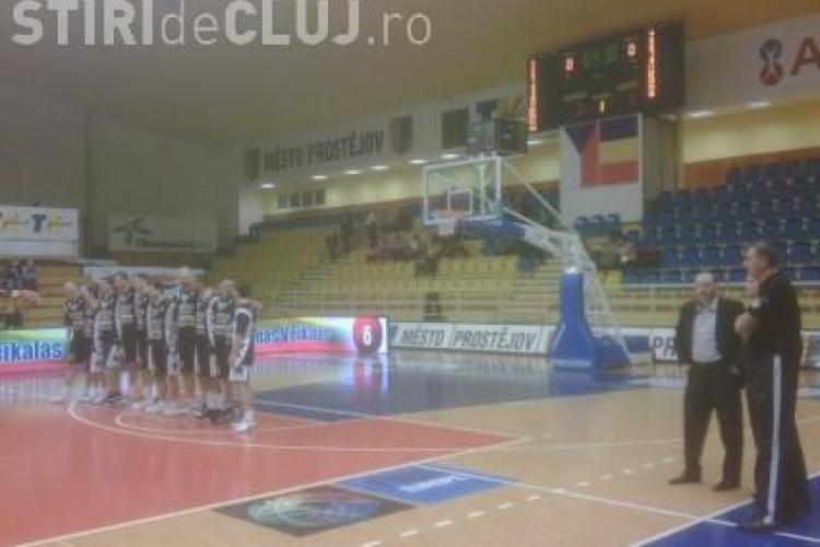 """U"" Mobitelco s-a calificat in Turneul Final Four al Ligii Europei Centrale"
